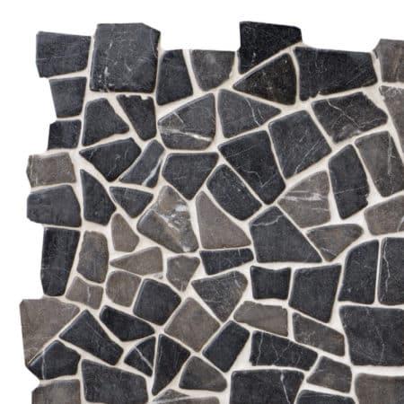 Mosaik grå marmor