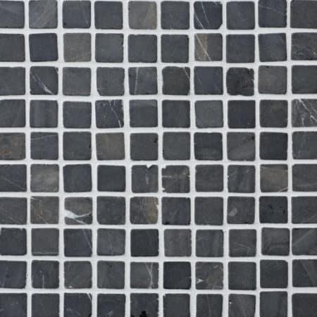 grå marmor mosaik 30x30mm