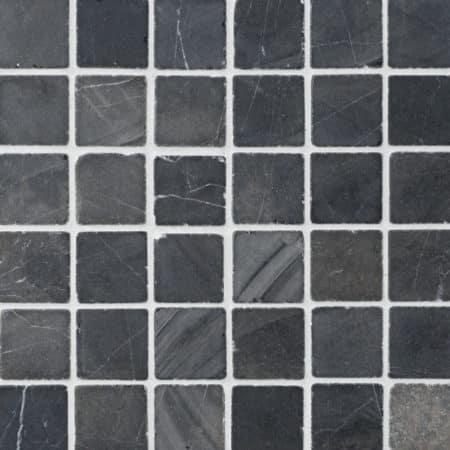 grå marmor mosaik 50x50mm