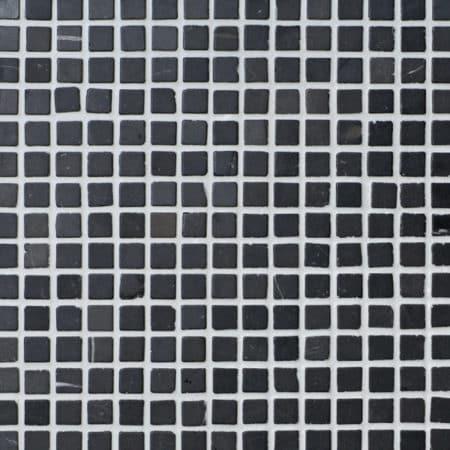 grå marmor mosaik 20x20mm