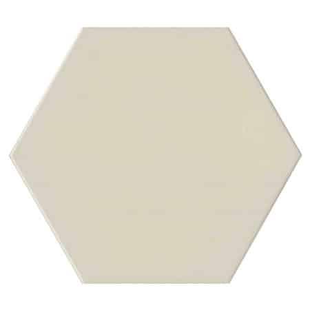 Hexagon White Porcelain 175x175mm