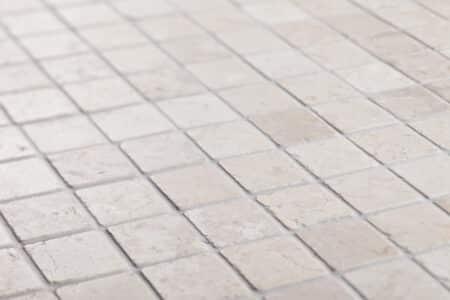 Vit marmor mosaik 50x50mm