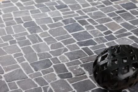 ljusgrå ROMAN marmor mosaik 300x300mm