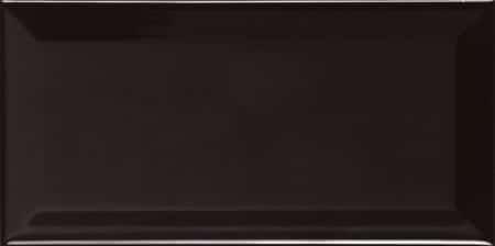 Biselado Negro Brillo (Metro) 100x200mm