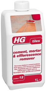 HG Tegelplattor Cement, murbruk och utblåsningsmedel 1L (prod 12)