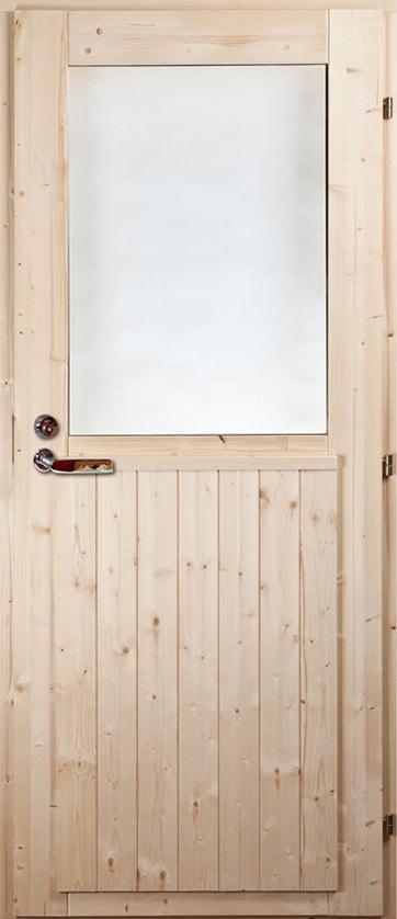 Ytterdörr Tall/Gran (fönster)