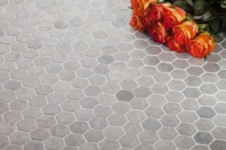 Hexagon Mini 30x30mm ljusgrå