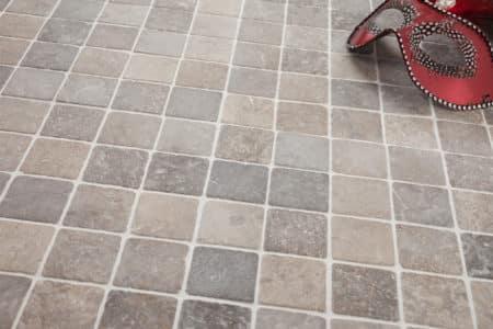 ljusgrå marmor mosaik 50x50mm