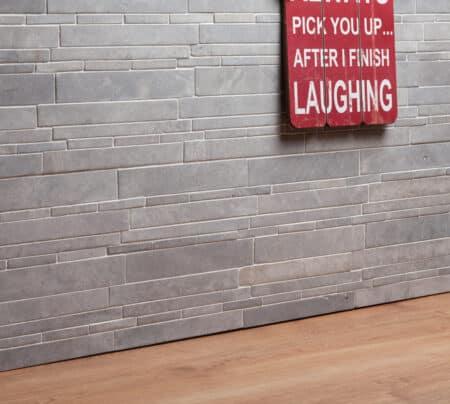 Legito ljusgrå vägg / fasadsten, 300x300mm